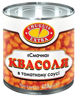 "Квасоля у томатному соусі ""Смачна"""