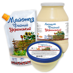 Faynyy Ukrainsky (Fine Ukrainian) Mayonnaise 60%