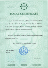 Сертификат халяльности Альраид (англ.)