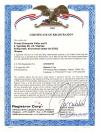 Сертификат регистрации FDA (США, англ.)
