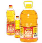 Crude sunflower oil for salads