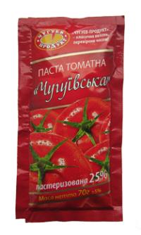 """ТМ """"ЧУГУЕВ-ПРОДУКТ"""" предлагает томатную пасту"""