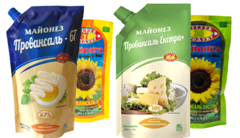 Chuguev-Product mayonnaise in new-design doy-packs
